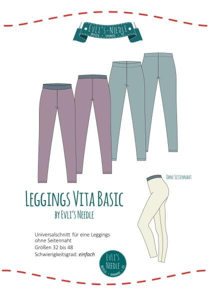 Papierschnitt VITA BASIC Leggings