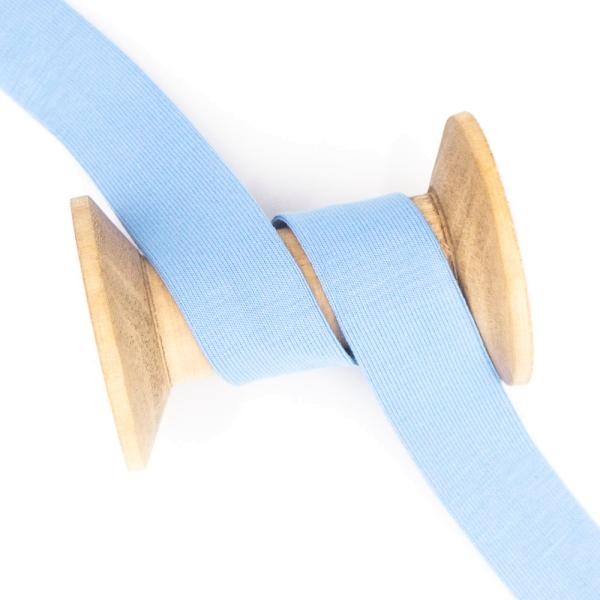 Jersey Schrägband Deluxe hellblau
