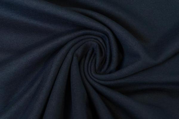Sweat Anna - French Terry Uni dark navy Ökotex 100