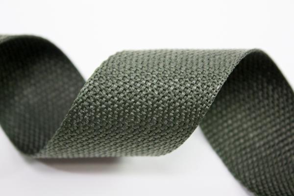 Gurtband 40mm olivgrün Polyester Ökotex 100