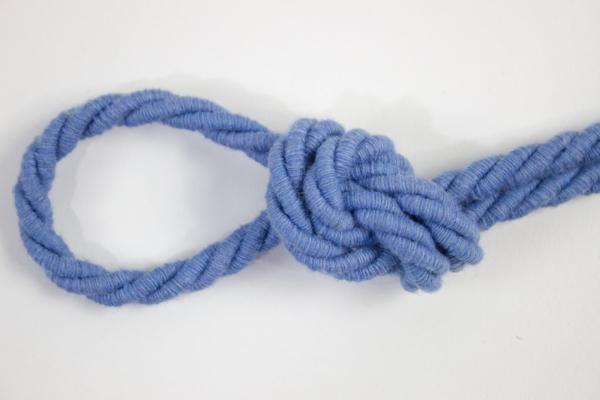 6mm Kordel gedreht jeansblau hell Atlaskordel Baumwolle Ökotex 100