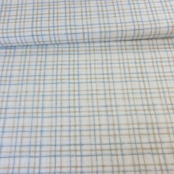 Baumwollwebware Italienische Kollektion Checks blau Ökotex 100