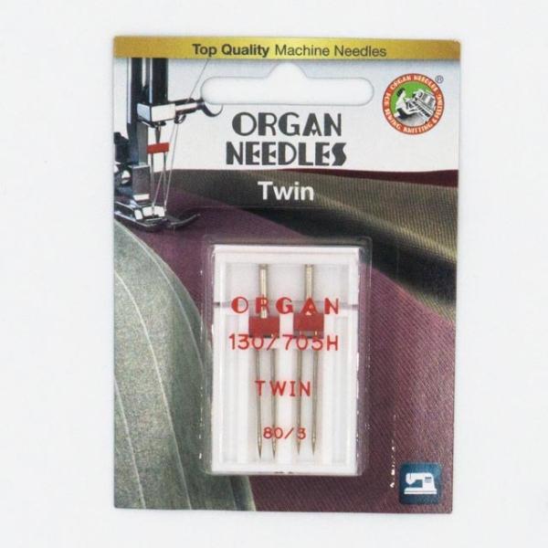 Organ Twin 2 Stk. Stärke 80/3.0