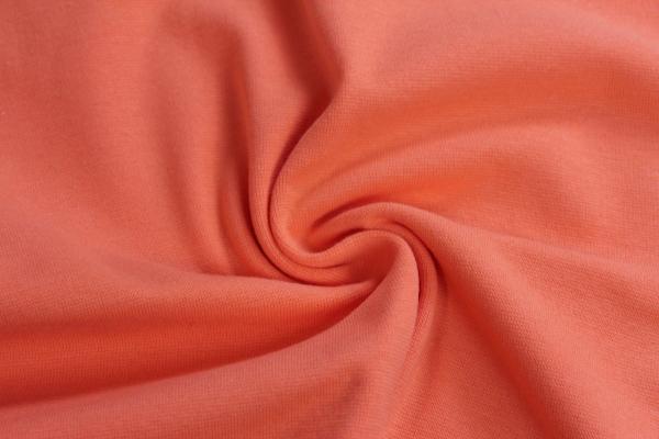 Bündchen Feinstrick Uni peach -hohe Sprungkraft- Ökotex 100