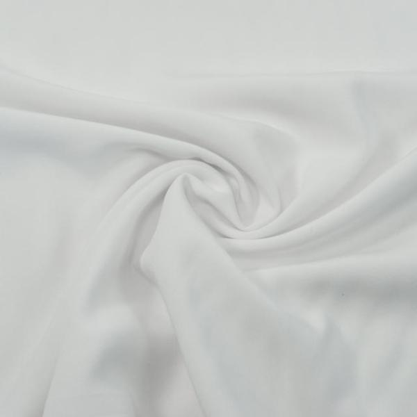 Viskosewebware Glanz weiß