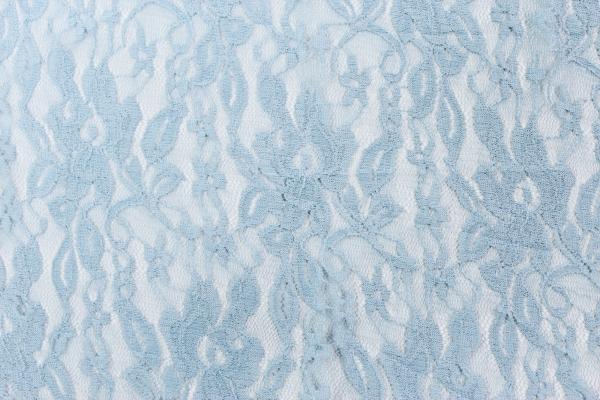 Elastische Spitze Fiona dusty-blue Öko Tex 100