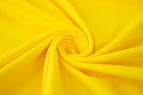 Bündchen Feinstrick Uni gelb Ökotex 100