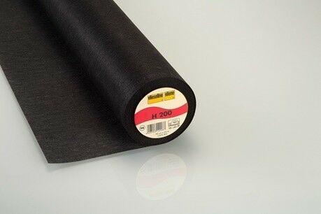 Vlieseline Bügeleinlage H200 schwarz