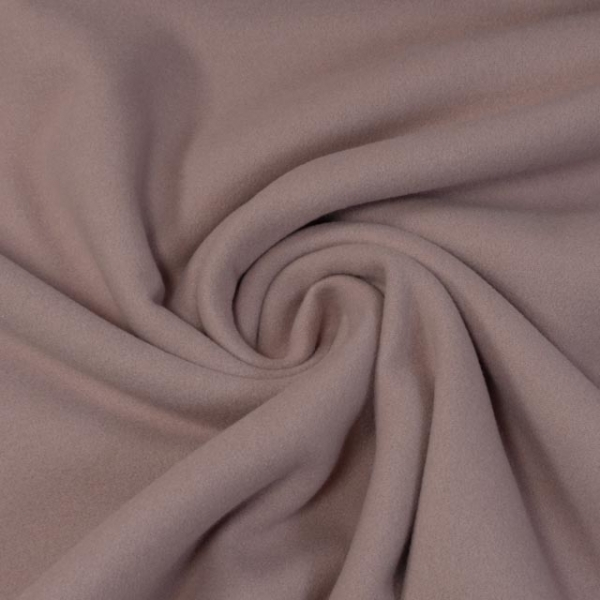 Mantelstoff Wool Touch puderrosa