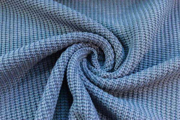 Kuschelstrick Luxor jeansblau Ökotex 100