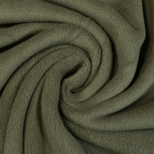 Baumwoll Fleece Doubleface khaki