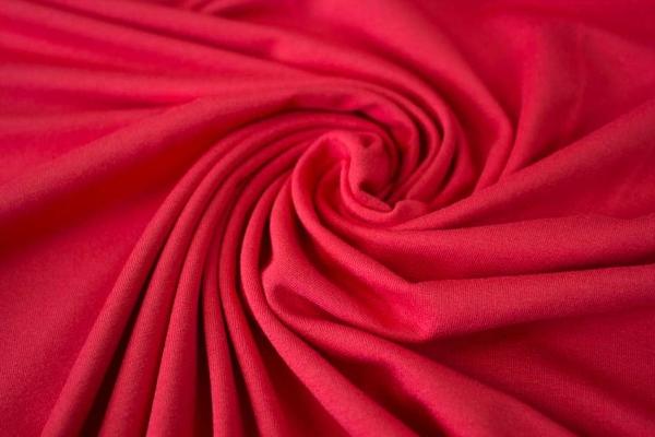 Viskosejersey Uni De Luxe rot Ökotex 100