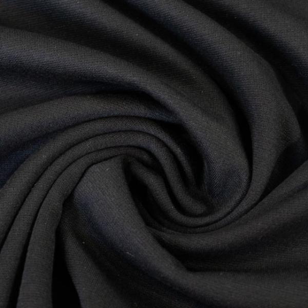 Schwerer Romanit Jersey schwarz