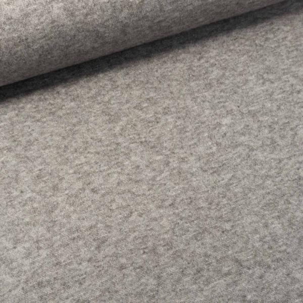 Strick-Sweat Candy Meliert grau
