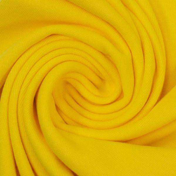 Bündchen Feinstrick gelb