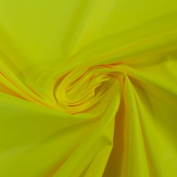 Wasserabweisender Folienstoff NEON gelb