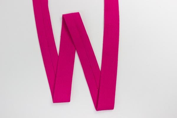 Jersey Schrägband vorgefalzt pink Ökotex 100