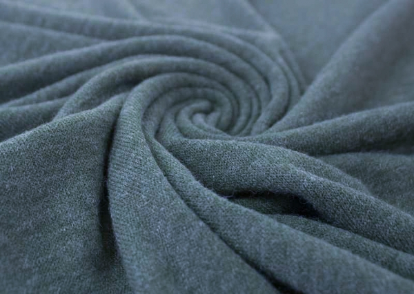 Strick-Jersey Angorastyle jeans melange - super kuschelig Ökotex 100