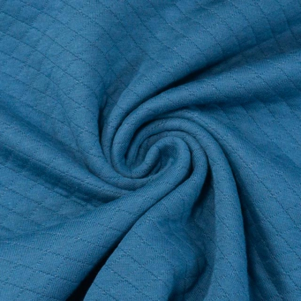 Baumwolljersey Stepper jeansblau
