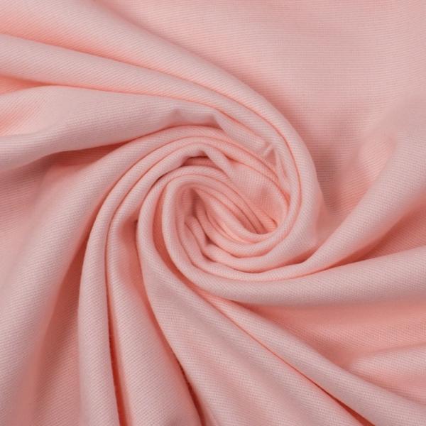 Flanell Baumwolle Uni rosa