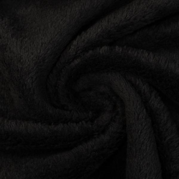 Wellness Fleece Plushy schwarz
