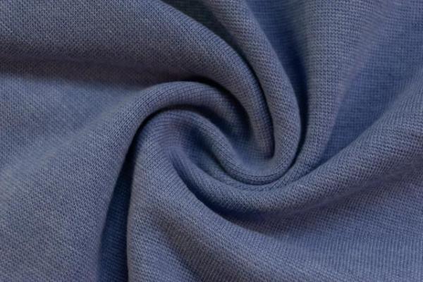 Bündchen Feinstrick Meliert jeansblau hell -hohe Sprungkraft- Ökotex 100