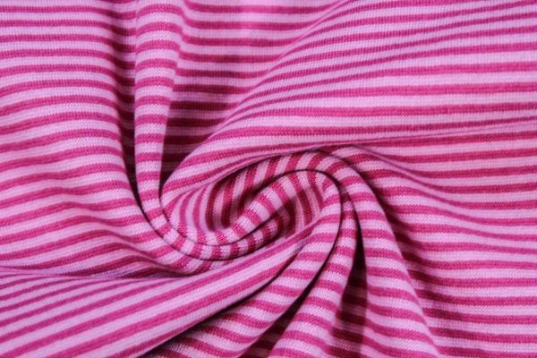 Ringel Bündchen Feinstrick rosa-pink Ökotex 100