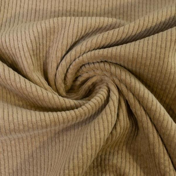 Breitcord Stretch beige SCHWER 320gr/m² ÖkoTex 100