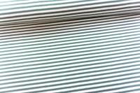 Baumwolljersey Basic STRIPES dusty mint Ökotex 100