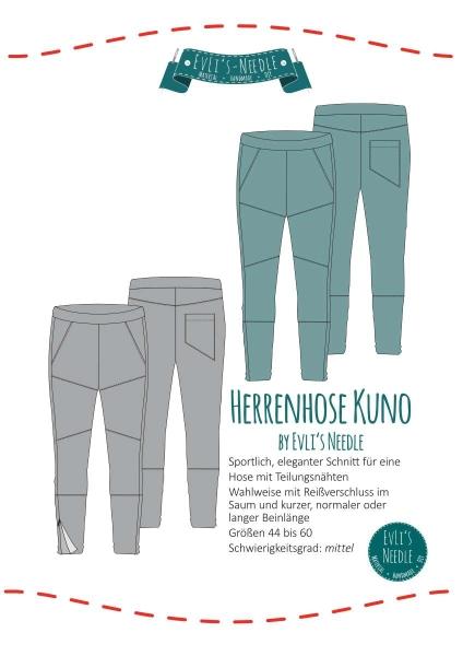 Papierschnitt Hose KUNO by EvLi's-Needle