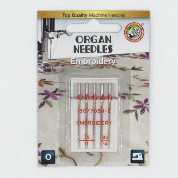 Organ Stick/Embroidery 5 Stk. Stärke 75-90