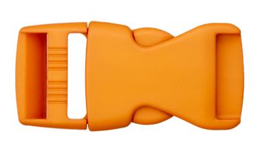Rucksackschließe senfgelb 40mm Kunststoff