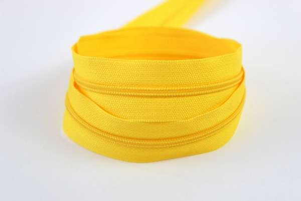 Endlosreißverschluss gelb 12mm Ökotex 100