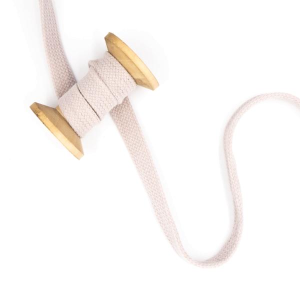 Flachkordel 20mm - Hoodie Kordel beige