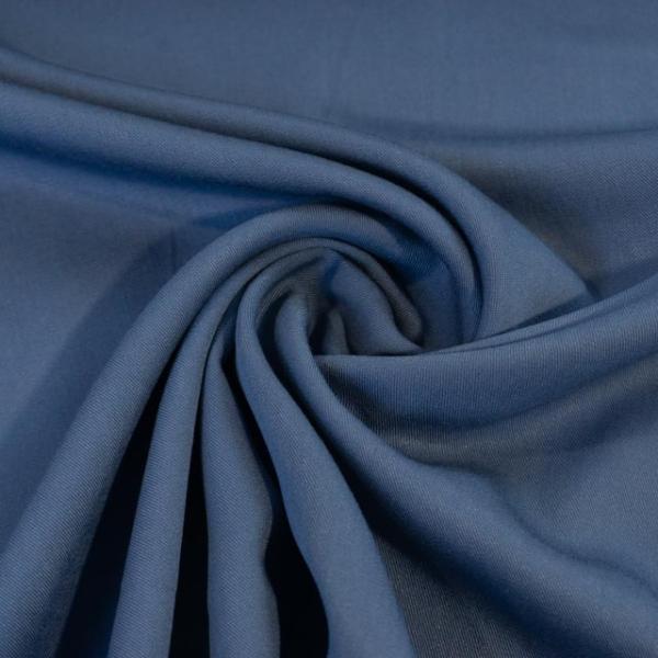 Viskosetwill Uni jeansblau