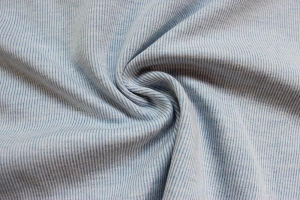Interlock Jersey angeraut Shirley jeansblau Ökotex 100
