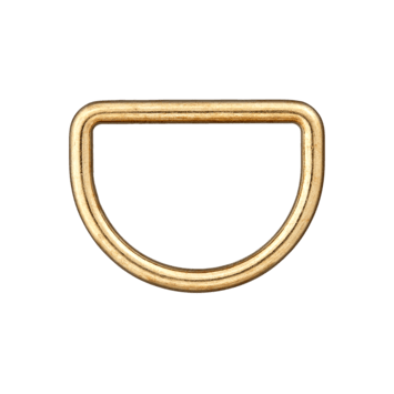 D-Ring gold 25mm