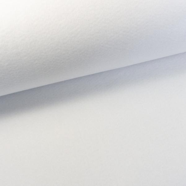 Filz 2mm Extra Breit Uni offshore white