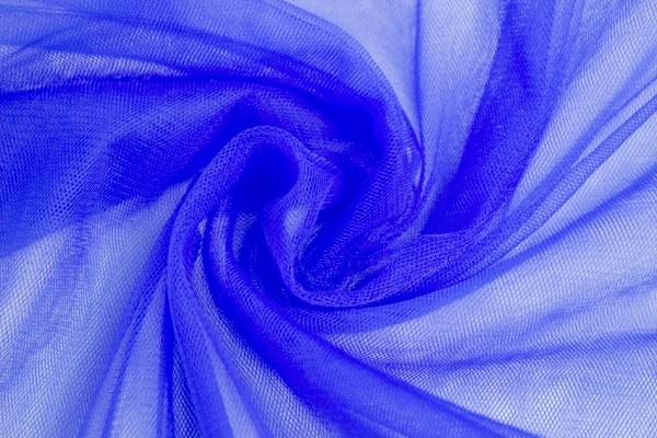 Softtüll Schleiertüll königsblau Ökotex 100