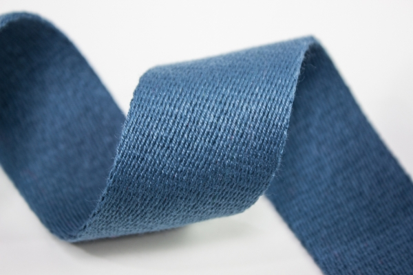 Gurtband 40mm jeansblau dunkel 100% Baumwolle Ökotex 100