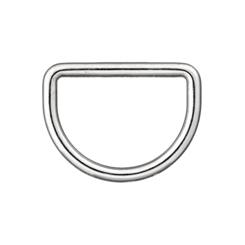 D-Ring silber 25mm
