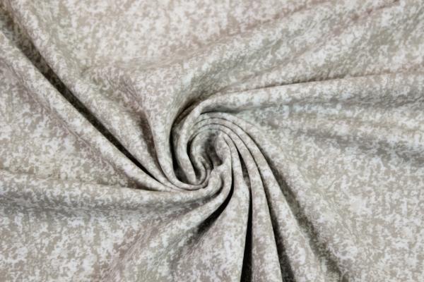 Baumwolljersey marmoriert beige Öko Tex 100