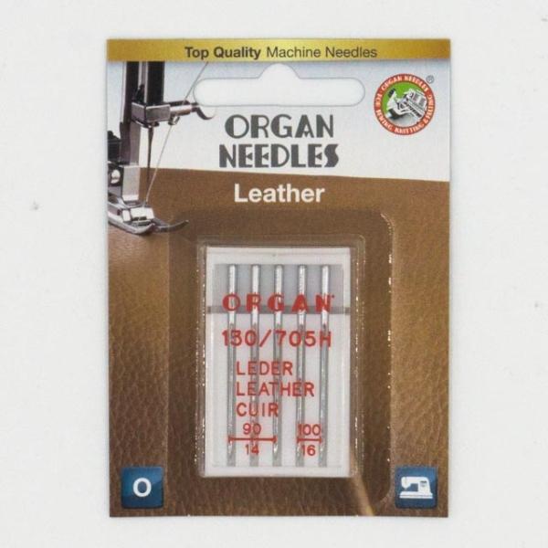 Organ Leder 5 Stk. Stärke 90-100