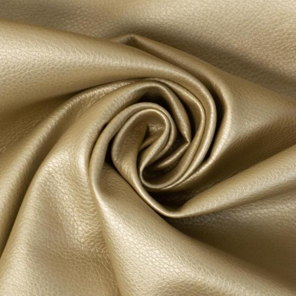 Metallic Soft Kunstleder gold Deluxe