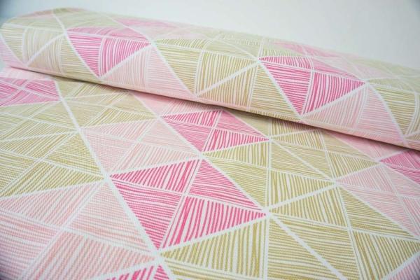 Canvas Art Gallery Angular Strings pink-oliv