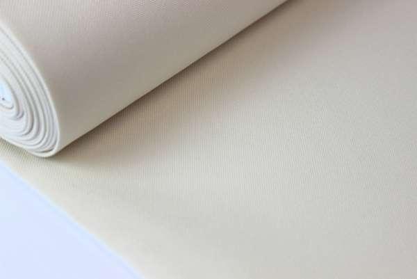 Taschenstoff Uni ecru - wasserabweisend Taschen-/Dekostoff