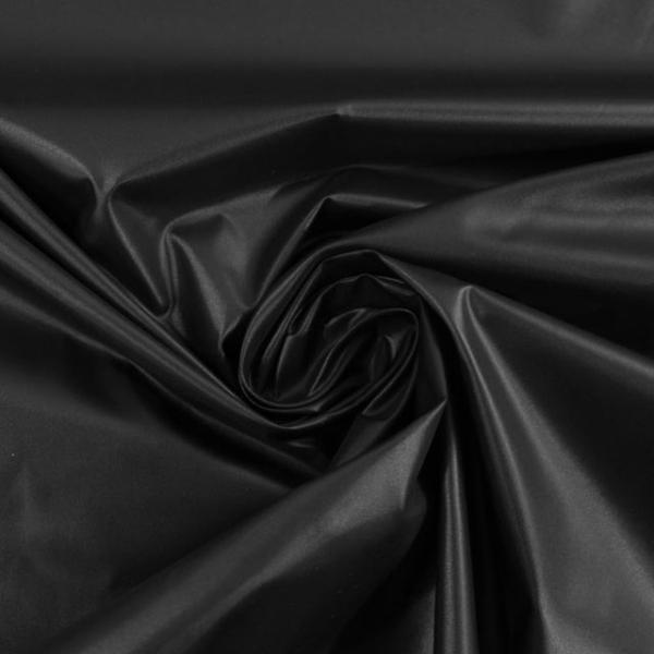 Wasserabweisender Folienstoff schwarz