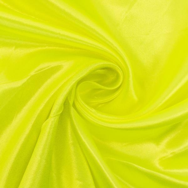 Webware glänzend neon-gelb