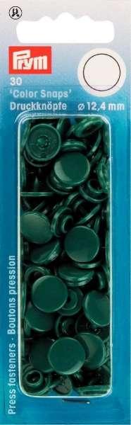 Prym Color Snaps dunkelgrün rund 12,4mm