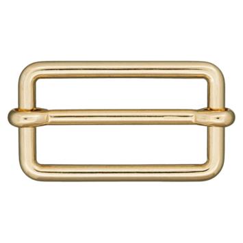 Metallschließe gold 40mm